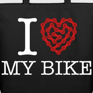 I Love My Bike Bags & backpacks - Eco-Friendly Cotton Tote