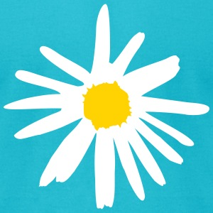 Flower, Daisy T-Shirts - Men's T-Shirt by American Apparel