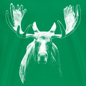Bull moose w - Men's Premium T-Shirt