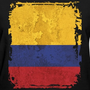 Colombia Flag T-shirt - Women's T-Shirt