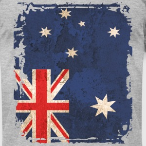 Australian Flag T-shirt - Men's T-Shirt by American Apparel