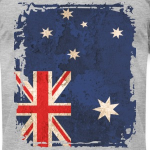Australian Art Flag - Men's T-Shirt by American Apparel