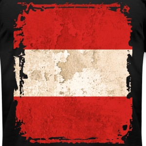 Austrian Flag T-shirt - Men's T-Shirt by American Apparel