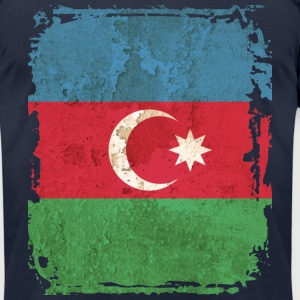 Azerbaijan Flag T-shirt - Men's T-Shirt by American Apparel