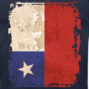 Chile Flag T-shirt - Men's T-Shirt by American Apparel