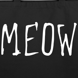 MEOW (1c) Bags & backpacks - Eco-Friendly Cotton Tote