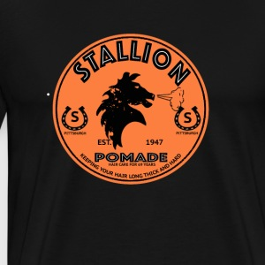 stallion pomade - Men's Premium T-Shirt
