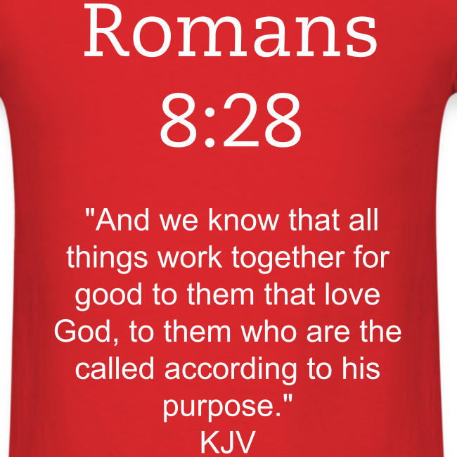 Men's Romans 8:28 T-Shirt