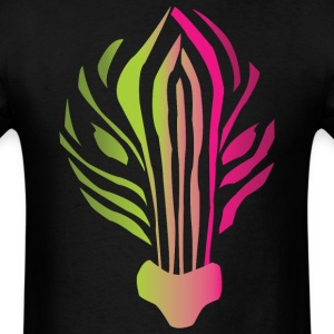 Neon Zebra Shirt - Men's T-Shirt