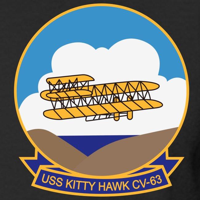 USS KITTY HAWK CV-63 WESTPAC/I.O./ ARABIAN SEA CRUISE 1984 CRUISE SHIRT - LONG SLEEVE