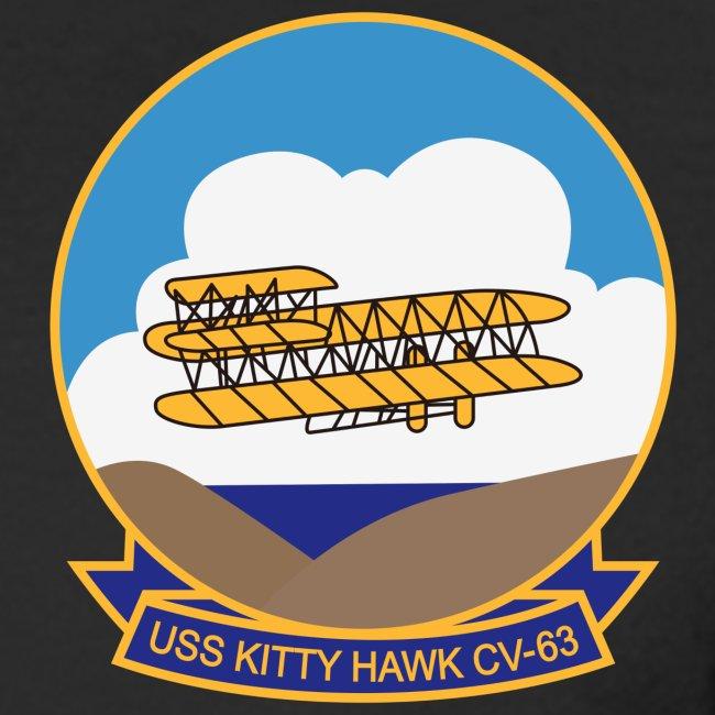 USS KITTY HAWK CV-63 WESTPAC/I.O/PERSIAN GULF CRUISE 1996-97 CRUISE SHIRT - LONG SLEEVE
