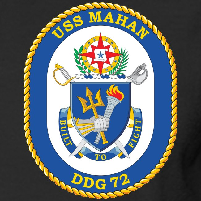 USS MAHAN DDG-72 2000 MAIDEN VOYAGE CRUISE SHIRT - LONG SLEEVE