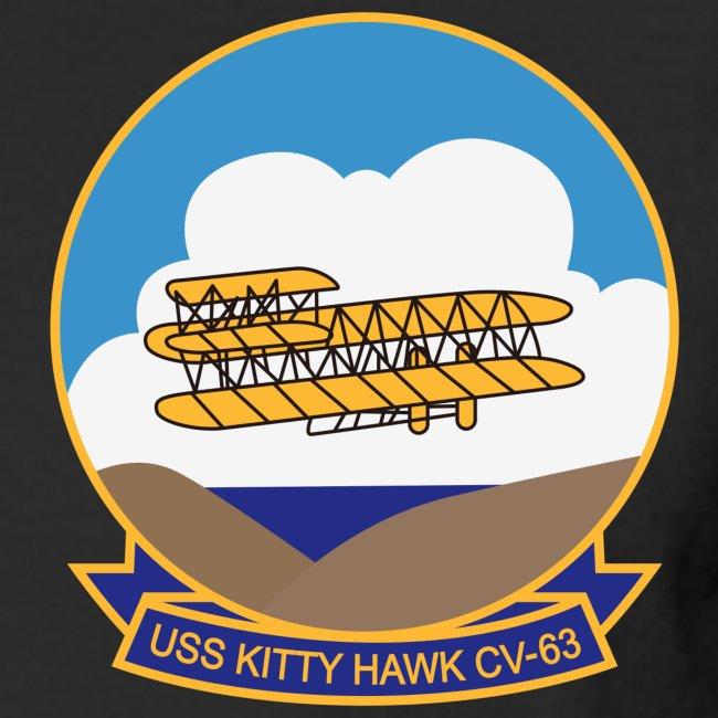 USS KITTY HAWK CV-63 2008 CRUISE SHIRT - LONG SLEEVE