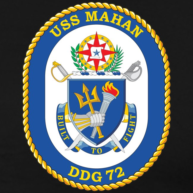 USS MAHAN DDG-72 2000 MAIDEN VOYAGE CRUISE SHIRT