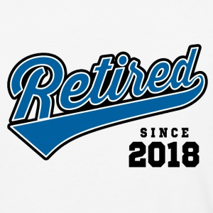 Retired Since 2018 T-Shirts - Baseball T-Shirt
