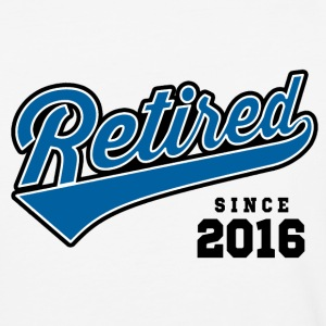 Retired Since 2016 T-Shirts - Baseball T-Shirt