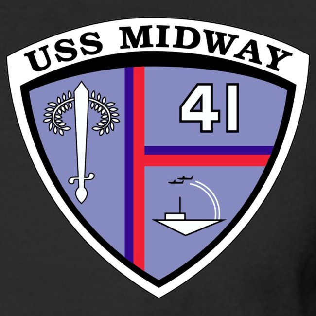 USS MIDWAY CV-41 1990-91 COMBAT CRUISE SHIRT