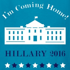 Hillary - I'm Coming Home Kids' Shirts