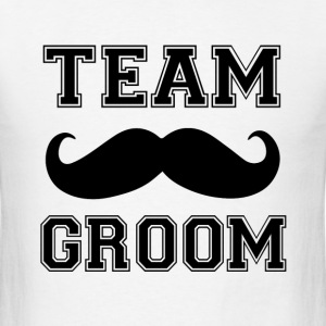 Team Groom Groomsmen funny men's shirt - Men's T-Shirt