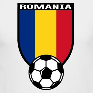 European Football Championship 2016 Romania Long Sleeve Shirts - Men's Long Sleeve T-Shirt by Next Level