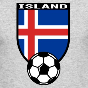 European Football Championship2016 Iceland Long Sleeve Shirts - Men's Long Sleeve T-Shirt by Next Level