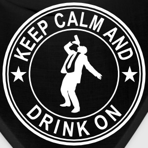 Keep Calm And Drink On Seal Caps - Bandana
