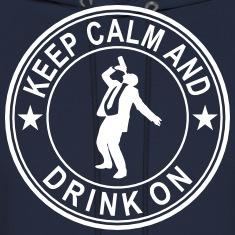 Keep Calm And Drink On Seal Hoodies