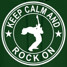 Keep Calm And Rock On Seal Hoodies