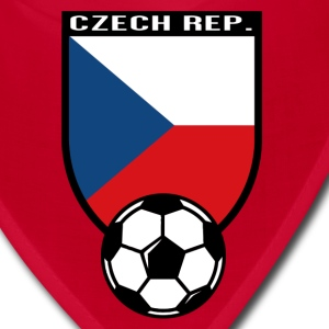 European Football Championship 2016 Czech Republic Caps - Bandana