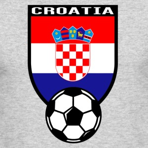 European Football Championship 2016 Croatia Long Sleeve Shirts - Men's Long Sleeve T-Shirt by Next Level
