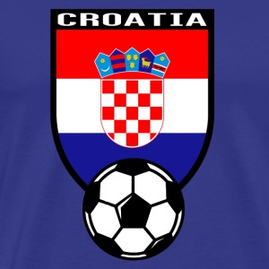 European Football Championship 2016 Croatia T-Shirts - Men's Premium T-Shirt