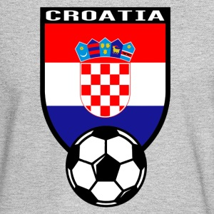 European Football Championship 2016 Croatia Long Sleeve Shirts - Men's Long Sleeve T-Shirt