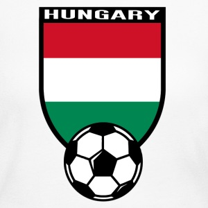 European Football Championship 2016 Hungary Long Sleeve Shirts - Women's Long Sleeve Jersey T-Shirt