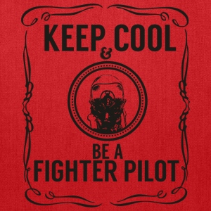 Keep cool & Fighter Pilot Bags & backpacks - Tote Bag