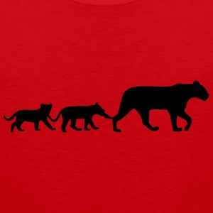 Lioness and lion cubs Sportswear - Men's Premium Tank