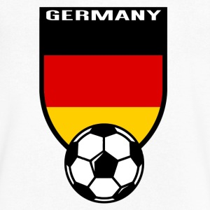 European Football Championship 2016 Germany T-Shirts - Men's V-Neck T-Shirt by Canvas