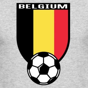 European Football Championship 2016 Belgium Long Sleeve Shirts - Men's Long Sleeve T-Shirt by Next Level