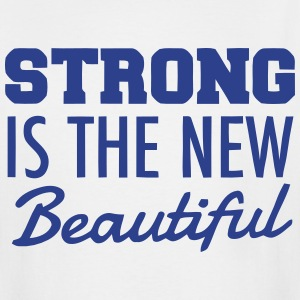 STRONG IS THE NEW BEAUTIFUL T-Shirts - Men's Tall T-Shirt