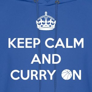 Keep Calm and Curry On - Men's Hoodie