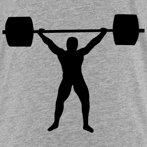 weight lifting Baby & Toddler Shirts - Toddler Premium T-Shirt