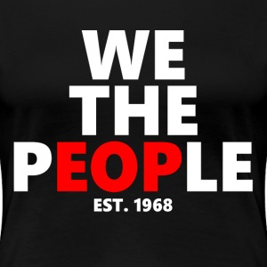 We The People EOP UALBANY COLLEGE Women's T-Shirts - Women's Premium T-Shirt