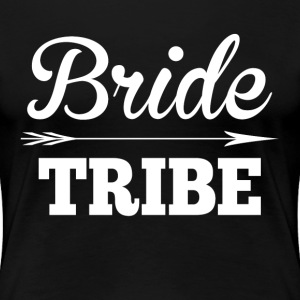 Bride Tribe BridesMaid Groom Wedding Women's T-Shirts - Women's Premium T-Shirt