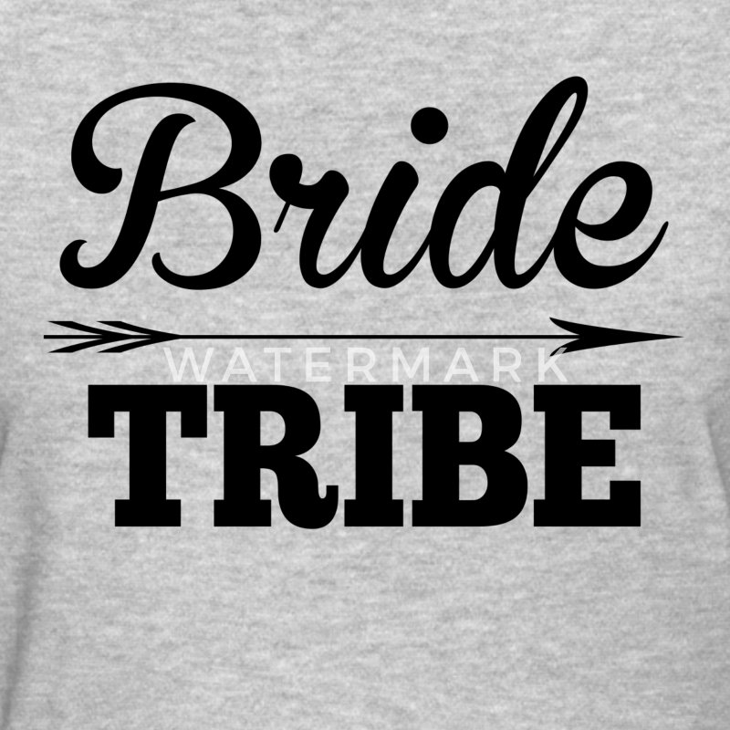 Bride Tribe BridesMaid Groom Wedding Women's T-Shirts - Women's T-Shirt