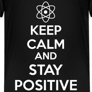 Keep Calm Positive Kids' Shirts - Kids' Premium T-Shirt