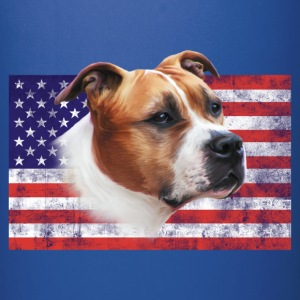 AmStaff USA grunge Mugs & Drinkware - Full Color Mug