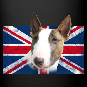 Bull Terrier UK grunge Mugs & Drinkware - Full Color Mug