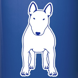 Bull Terrier FRONT white Mugs & Drinkware - Full Color Mug
