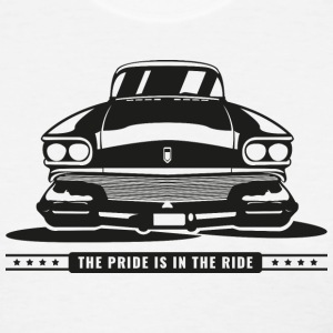 The Pride is in the Ride Women's T-Shirts - Women's T-Shirt