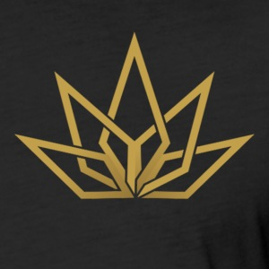 DHG - T-Shirt Gold Logo - Men's - Fitted Cotton/Poly T-Shirt by Next Level