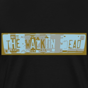License Plate Art - Men's Premium T-Shirt